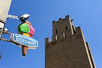 Turm Torre San Cristoforo  in Oristano, Provinz Oristano, West - Sardinien, Italien