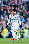 Carlos Henrique Casemiro of Real Madrid in action during the La Liga 2017-18 match between Real Madrid and Deportivo Alaves at Santiago Bernabeu Stadium on February 24 2018 in Madrid, Spain. Photo by Diego Souto / Power Sport Images