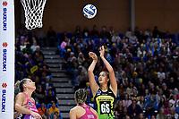 Aliyah Dunn of the Pulse during the ANZ Premiership Netball - Te Wānanga o Raukawa Pulse v Southern Steel at Te Rauparaha Arena, Porirua, New Zealand on Sunday 16 May 2021.<br /> Photo by Masanori Udagawa. <br /> www.photowellington.photoshelter.com