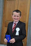 Josh Smith at first communion in Slane..Picture:  www.newsfile.ie ..