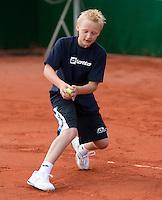 13-8-09, Den Bosch,Nationale Tennis Kampioenschappen, Kwartfinale, Ballenkind