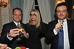 GIORGIO MULE', ROMANA LIUZZO E MARIO ORFEO<br /> PREMIO GUIDO CARLI - SECONDA EDIZIONE<br /> RICEVIMENTO A CASINA VALADIER ROMA 2011