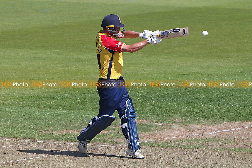 Tom Westley in batting action for Essex during Hampshire Hawks vs Essex Eagles, Vitality Blast T20 Cricket at The Ageas Bowl on 16th July 2021