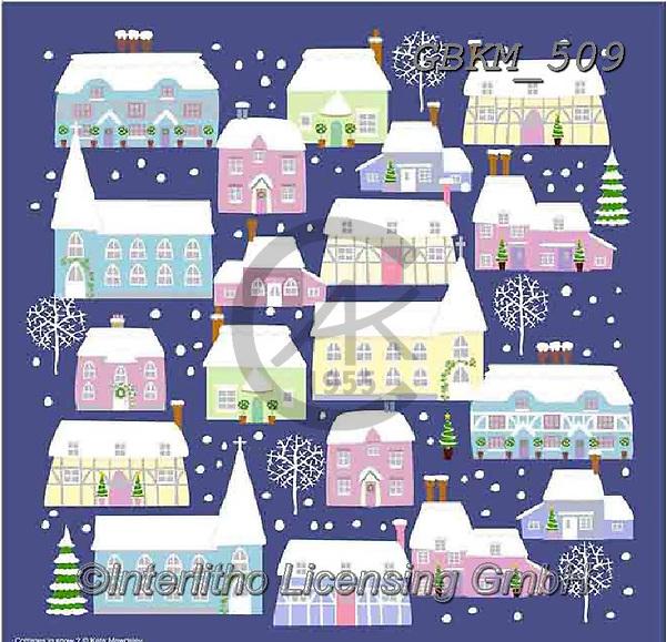 Kate, CHRISTMAS LANDSCAPES, WEIHNACHTEN WINTERLANDSCHAFTEN, NAVIDAD PAISAJES DE INVIERNO, paintings+++++Christmas page 37 2,GBKM509,#xl#