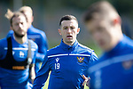 St Johnstone Training….13.09.19     McDiarmid Park, Perth<br />Jason Holt pictured during training this morning ahead of tomorrows game at Aberdeen<br />Picture by Graeme Hart.<br />Copyright Perthshire Picture Agency<br />Tel: 01738 623350  Mobile: 07990 594431