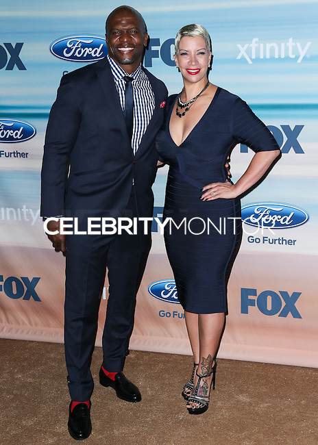 SANTA MONICA, CA, USA - SEPTEMBER 08: Terry Crews, Rebecca King Crews arrive at the 2014 FOX Fall Eco-Casino Party held at The Bungalow on September 8, 2014 in Santa Monica, California, United States. (Photo by Xavier Collin/Celebrity Monitor)