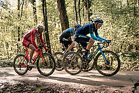 Juri Hollmann (DEU/Movistar) over the Plugstreets<br /> <br /> 82nd Gent-Wevelgem in Flanders Fields 2020 (1.UWT)<br /> 1 day race from Ieper to Wevelgem (232km)<br /> <br /> ©kramon