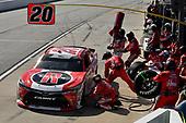 #20: Christopher Bell, Joe Gibbs Racing, Toyota Camry Rheem pits