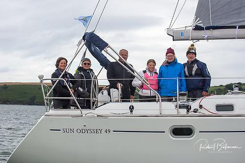 Fiscala - James Matthews Jeanneau was first in the White Sails Echo division Photo: Bob Bateman