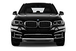 Car photography straight front view of a 2018 BMW X5 xDrive35d 5 Door SUV