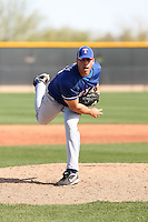 Jared Schrom, Texas Rangers minor league spring training..Photo by:  Bill Mitchell/Four Seam Images.