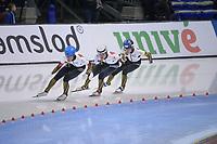 SPEEDSKATING: 15-02-2020, Utah Olympic Oval, ISU World Single Distances Speed Skating Championship, Team Pursuit Men, Team Japan (JPN), ©photo Martin de Jong