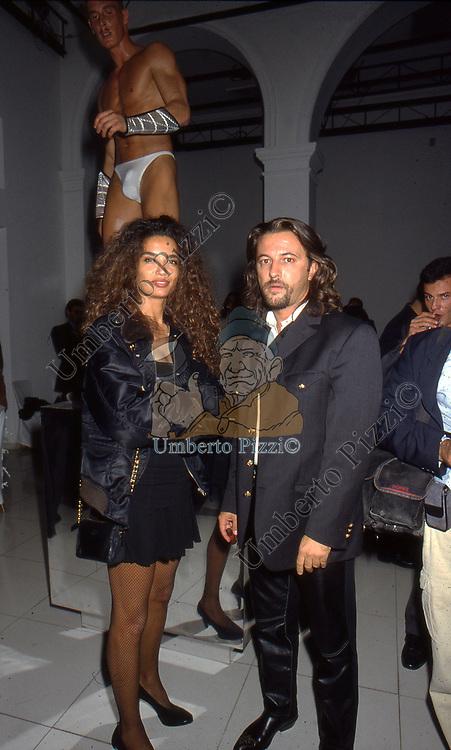 AFEF JNIFEN CON ANTONELLO PIROSO <br /> ACCEDEMIA VALENTINO ROMA 1995