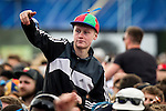 © Joel Goodman - 07973 332324 . 06/06/2015. Manchester , UK . Crowd in front of the Main Stage for Wu Tang Clan at The Parklife 2015 music festival in Heaton Park , Manchester . Photo credit : Joel Goodman