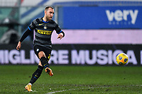 Christian Eriksen of FC Internazionale in action during the Serie A football match between UC Sampdoria and FC Internazionale at stadio Marassi in Genova (Italy), January 6th, 2021. <br /> Photo Daniele Buffa/Image Sport / Insidefoto