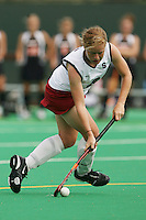 STANFORD, CA - AUGUST 19:  Katie Mitchell of the Stanford Cardinal during Stanford's 4-1 exhibition win over the University of the Pacific on August 19, 2008 at the Varsity Field Turf in Stanford, California.