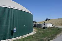 CROATIA, Slavonia, biogas plant / KROATIEN, Slawonien, Biogasanlage der Firma Bioplin Proizvodnja d.o.o. in Medinci bei Slatina
