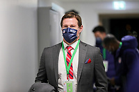 WIENER NEUSTADT, AUSTRIA - NOVEMBER 16: Brian McBride of the United States before a game between Panama and USMNT at Stadion Wiener Neustadt on November 16, 2020 in Wiener Neustadt, Austria.