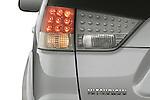Detail of 2008 Mitsubishi Outlander SUV tail light