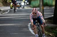 polka dot jersey / KOM leader Michael Woods (CAN/Israel Start-Up Nation) in the descent of the Col de Beixalis<br /> <br /> Stage 15 from Céret to Andorra la Vella (191km)<br /> 108th Tour de France 2021 (2.UWT)<br /> <br /> ©kramon