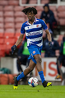 6th February 2021; Bet365 Stadium, Stoke, Staffordshire, England; English Football League Championship Football, Stoke City versus Reading; Ovie Ejaria of Reading looks up to cross the ball