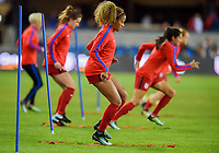 San Jose, CA - Sunday November 12, 2017: Casey Short during an International friendly match between the Women's National teams of the United States (USA) and Canada (CAN) at Avaya Stadium.