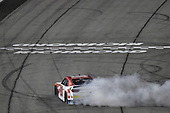 #20: Christopher Bell, Joe Gibbs Racing, Toyota Camry Rheem celebrates his win