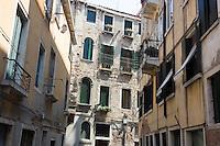 Uno scorcio del sestiere Castello, Venezia.<br /> A view of Castello sestiere in Venice.<br /> UPDATE IMAGES PRESS/Riccardo De Luca