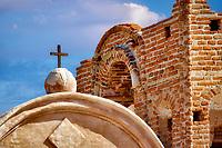 Chapel cross. Tumacacori National historical Park. Arizona