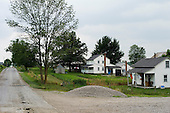 West Salem and Homerville, Ohio.July 22, 2011..Amish farms between West Salem and Homerville.