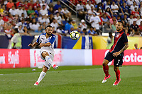 Harrison, NJ - Friday July 07, 2017: Alfredo Mejía during a 2017 CONCACAF Gold Cup Group A match between the men's national teams of Honduras (HON) vs Costa Rica (CRC) at Red Bull Arena.