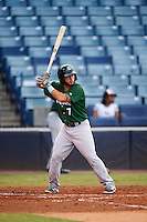 Daytona Tortugas shortstop Blake Trahan (7) at bat during a game against the Tampa Yankees on August 5, 2016 at George M. Steinbrenner Field in Tampa, Florida.  Tampa defeated Daytona 7-1.  (Mike Janes/Four Seam Images)