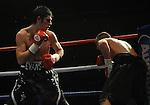 Ryan Evans (Black & White Shorts) V Daniel Thorpe (Black shorts). Joe Calzaghe Promotions Boxing Evening Joe Calzaghe Promotions Boxing Evening .Date: Friday 20/11/2009,  .© Ian Cook IJC Photography, 07599826381, iancook@ijcphotography.co.uk,  www.ijcphotography.co.uk, .