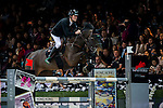 Constant Van Paesschen of Belgium riding Citizenguard Million Dreams in action during the Laiterie De Montaigu Trophy as part of the Longines Hong Kong Masters on 14 February 2015, at the Asia World Expo, outskirts Hong Kong, China. Photo by Victor Fraile / Power Sport Images