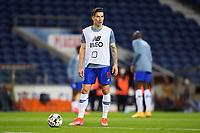 30th April 2021; Dragao Stadium, Porto, Portugal; Portuguese Championship 2020/2021, FC Porto versus Famalicao; Mateus Uribe of FC Porto before the match
