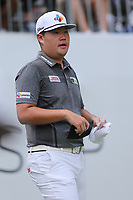29th August 2021; Owens Mills, Maryland, USA;  Sungjae Im (KOR) looks on from the 1st tee during the final round of the BMW Championship on August 29, 2021, at Caves Valley Golf Club in Owings Mills, MD.