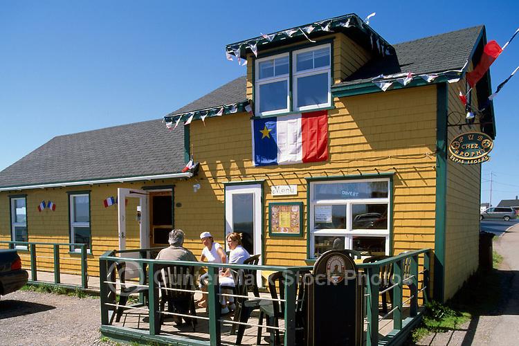"Ile du Havre-Aubert, Iles de la Madeleine, Quebec, Canada - Restaurant at Historical Site ""La Grave"" - (Amherst Island, Magdalen Islands)"