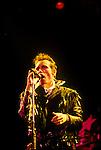 Live photographs of recording artist Adam Ant