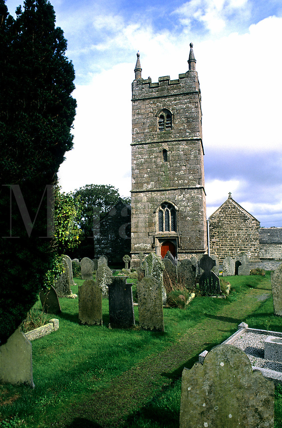 Collegiate Church of St. Endellion in Fowley England