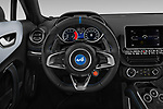 Car pictures of steering wheel view of a 2019 Alpine A110 Pure 2 Door Coupe Steering Wheel