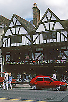 Salisbury: House, 1425, built by John A'Porte, six times Mayor of Salisbury and a great wool merchant. Photo '90.
