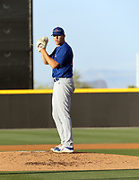 Max Bain - Chicago Cubs 2021 spring training (Bill Mitchell)