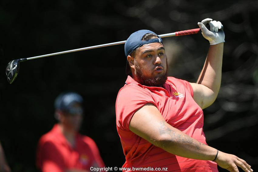 Hukanui Brown, Poverty Bay EC, 2019 New Zealand Men's Interprovincials, Hastings Golf Club, Hawke's Bay, New Zealand, Tuesday 26th November, 2019. Photo: Kerry Marshall/www.bwmedia.co.nz