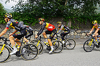 July 12th 2021, Andorre-la-Vielle, France; VAN AERT Wout (BEL) of JUMBO-VISMA during rest day 2 of the 108th edition of the 2021 Tour de France cycling race on July 12
