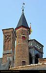 Gruuthuse Palace Towers, Bruges, Brugge, Belgium