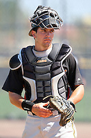 March 31, 2010:  Catcher Andrew Walker (71) of the Pittsburgh Pirates organization during Spring Training at the Yankees Training Complex in Tampa, FL.  Photo By Mike Janes/Four Seam Images