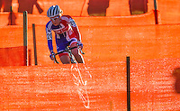 03 NOV 2012 - IPSWICH, GBR - Bethany Crumpton (GBR) of Great Britain makes her way round the course during the Elite Women's European Cyclo-Cross Championships in Chantry Park, Ipswich, Suffolk, Great Britain (PHOTO (C) 2012 NIGEL FARROW)