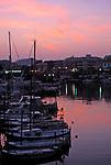 Spanien, Mallorca: Hafen von Cala Rajada im Abendlicht | Spain, Mallorca: Cala Rajada harbour at sunset