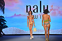 MIAMI BEACH, FLORIDA - JULY 11: A model walks the runway during Nalu Swimwear by Model Turned Designer Johanna Chone fashion show at Miami Beach Swim Week at The Paraiso Tent on July 11, 2021 in Miami Beach, Florida.   ( Photo by Johnny Louis / jlnphotography.com )