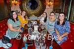 Enjoying the evening in Molly J's on Friday, l to r: Jennifer Halloran, Aisling O'Connor, Ciara Ní She, Elaine Dold and Laura Sullivan.